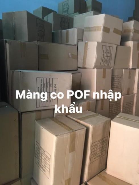 Cung cấp màng co bọc hộp kem | Màng co POF, PVC, PE | 0972 998 132