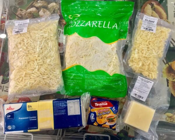 Cung cấp sỉ lẻ phô mai sợi mozzarella