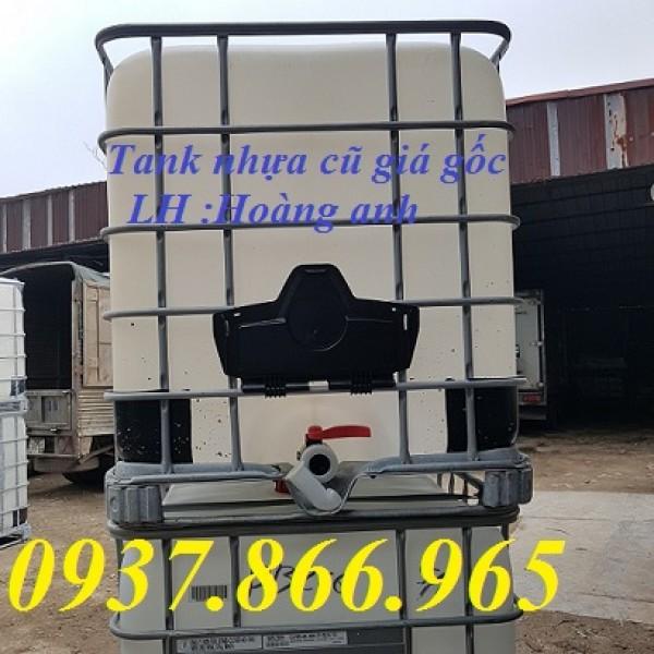 Cung cấp tank nhựa cũ số lượng lớn, bồn nhựa IBC 100l, tank đã qua sử dụng