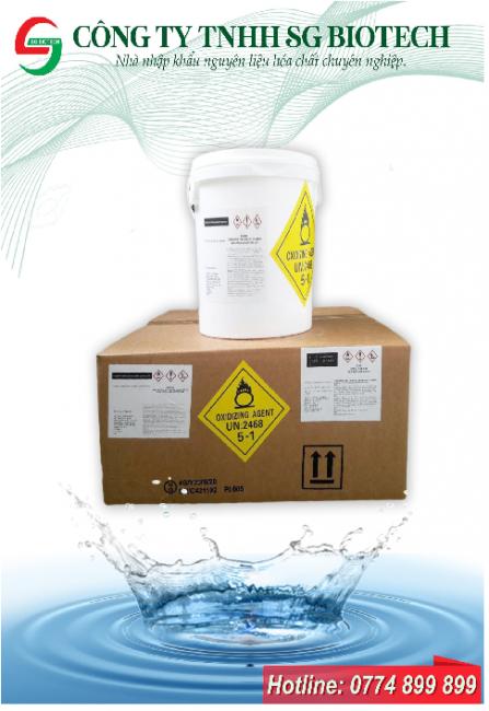 Cung cấp TCCA viên 2g , TCCA bột diệt khuẩn trong nuôi trồng thủy sản