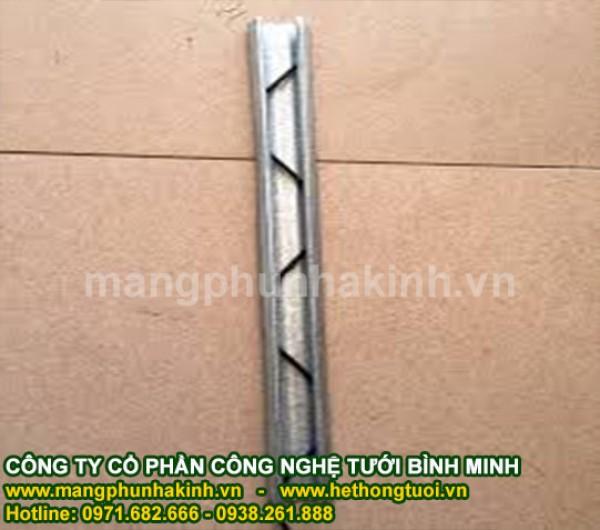 Cung cấp thanh nẹp và zíc zắc cho nhà lưới, nẹp cài màng nhà kính, phụ kiện nhà kính, zíc zắc loxo