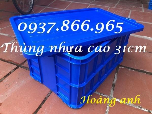 Cung cấp thùng nhựa có nắp, thùng nhựa đặc tại hà nội, giá thùng nhựa đặc, khay nhựa công nghiệp