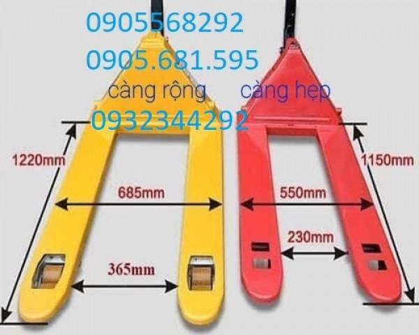Cung cấp xe nâng tay chính hãng, bảo hành tốt, giá rẻ 0905568292