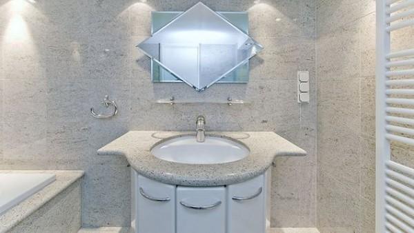 Đá hoa cương lát nhà tắm trắng sứ đang rất được ưa chuộng