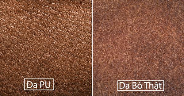 Da thật và da Pu có những cách phân biệt đơn giản