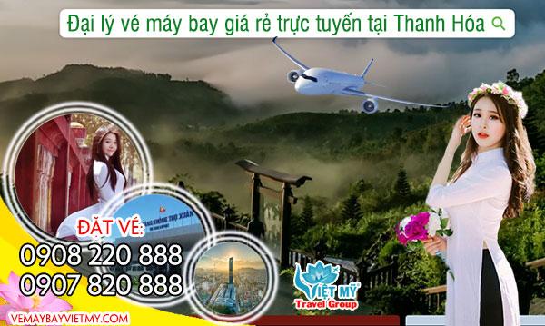 Đại lý vé máy bay giá rẻ trực tuyến tại Thanh Hóa