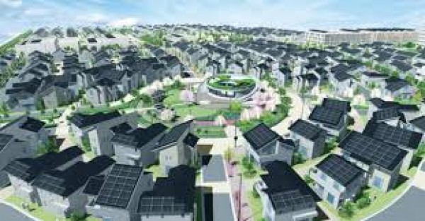 Đáng chú ý có dự án xây dựng thị trấn thông minh và bền vững Fujisawa