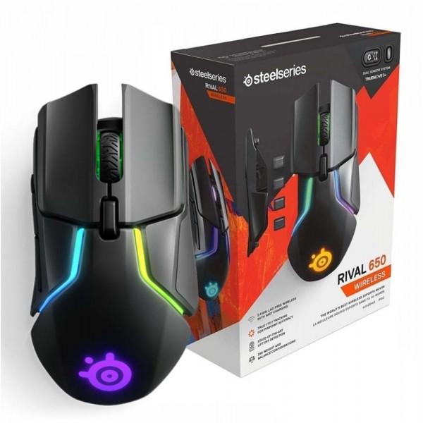 Đánh giá kỹ thuật Steelseries Rival 650 chuột không dây gaming giá rẻ