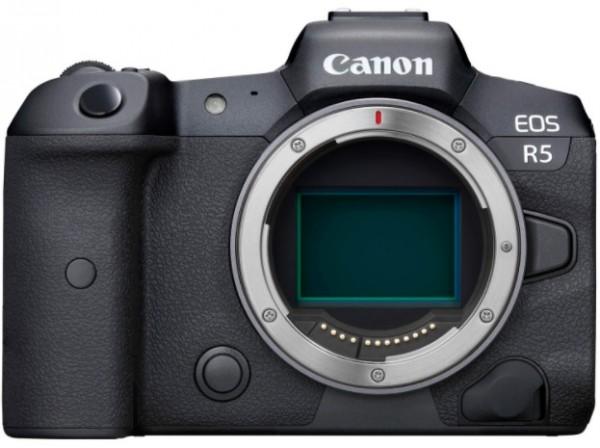 Đánh giá Máy ảnh Canon EOS R5 về cấu tạo