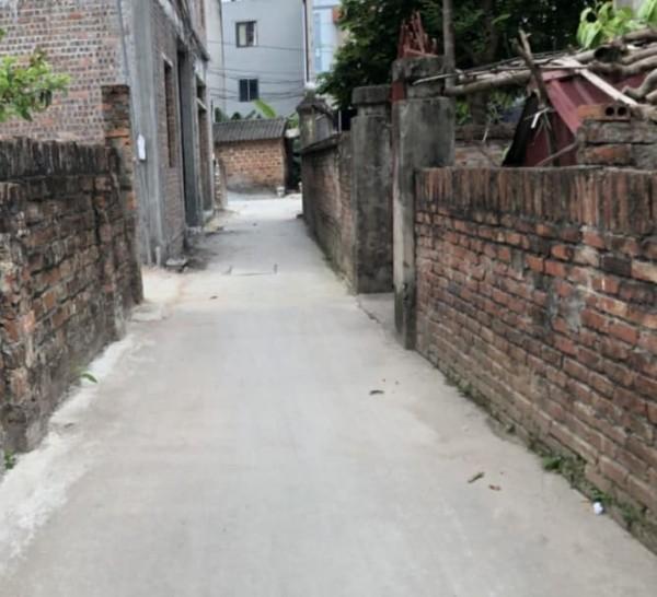 Đất Đông Dư, Gia Lâm gần cầu Thanh Trì 30.8m2 - 850 triệu.