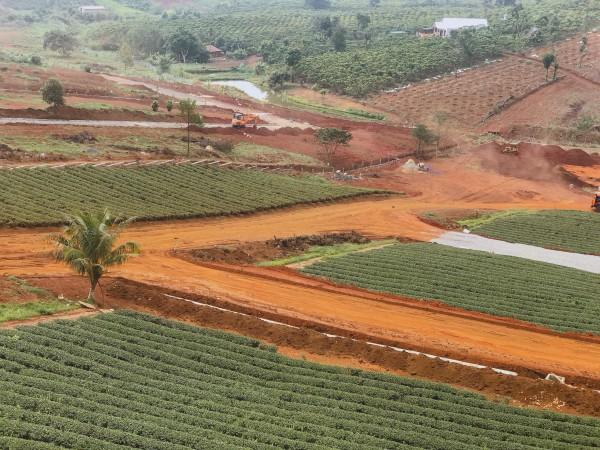 Đất nền thổ cư đồi chè Tâm Châu 669 triệu, hạ tầng mới 100%