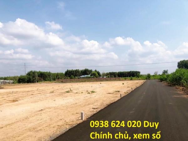 Đất thổ cư mặt tiền QL55 liền kề TT Huyện Đất Đỏ - SHR 7Tr/m2