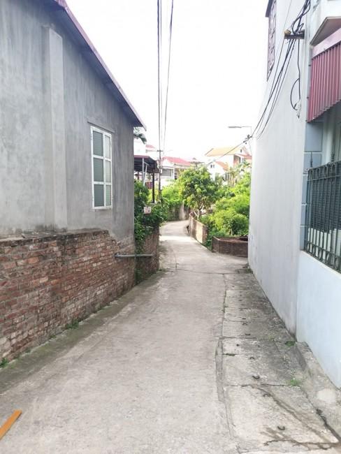 Đất trong đê Đông Dư, Gia Lâm, lô góc, cách mặt đê chỉ 20m ô tô 7 chỗ cua vào nhà.