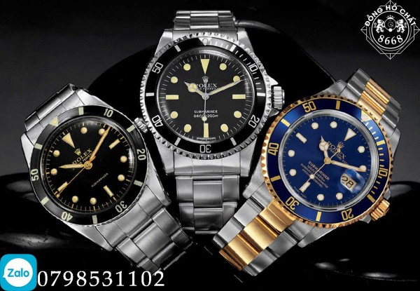 Dấu hiệu để nhận biết đồng hồ Rolex thật và đồng hồ Rolex nhái