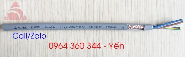 Dây cáp điện Altek Kabel 4x0.5 lõi bọc nhiễu chính hãng