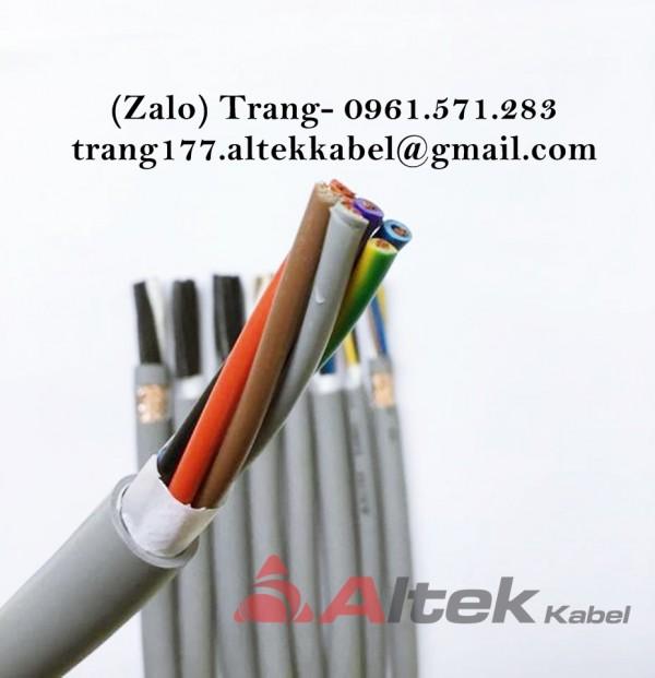Dây cáp điều khiển chống nhiễu 7 lõi 18awg- 7x0.75mm2