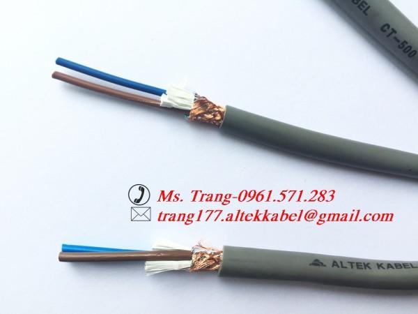 Dây cáp điều khiển, dây cáp tín hiệu 2 lõi có chống nhiễu
