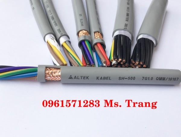 Dây điện điều khiển lõi đồng tơ 7C x0.75