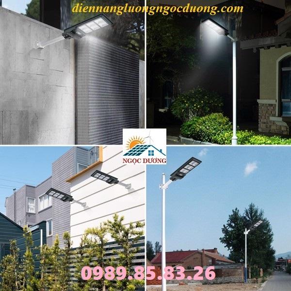 Đèn chiếu sáng đường phố năng lượng mặt trời 180W, đèn sử dụng năng lượng mặt trời