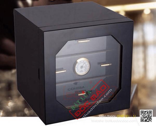 Địa chỉ bán hộp bảo quản giữ ẩm thuốc xì gà Cohiba uy tín (12 mẫu)