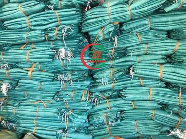 Địa chỉ công ty chuyên sản xuất bao tải dứa, bán bao tải dứa xanh - 0908.858.386