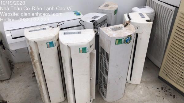 Địa chỉ thu mua máy lạnh cũ tại quận Bình Thạnh - Cao Vĩ