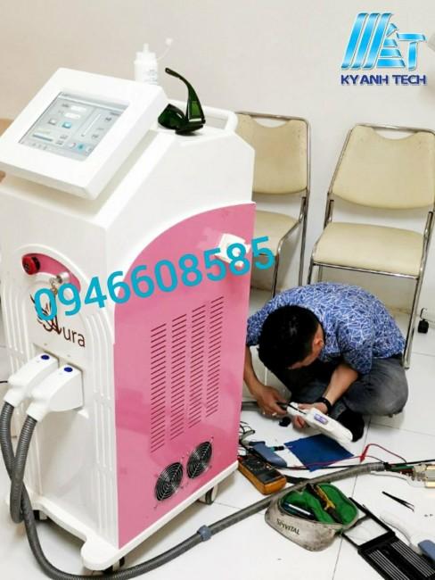 Dịch vụ sửa chữa máy triệt lông sài gòn