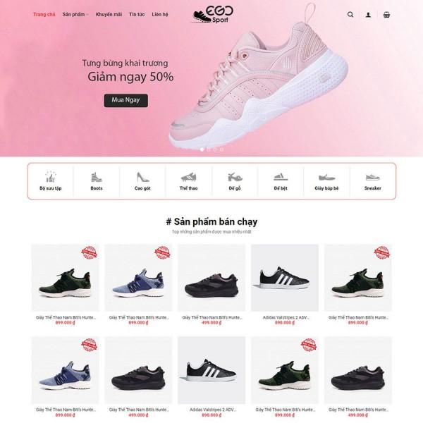 Dịch vụ thiết kế web mẫu có sẵn