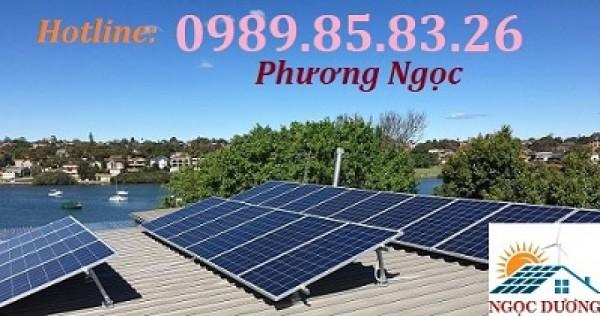 Điện mặt trời hòa lưới 3 pha, hệ thống điện mặt trời 3 pha 10KW, điện áp mái 10kW