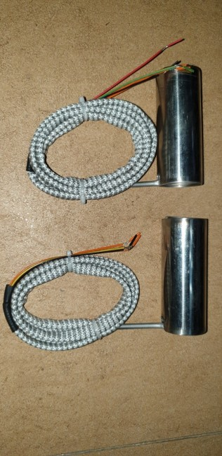 Điện trở lò xo máy ép phun phi 50, điện áp 220v