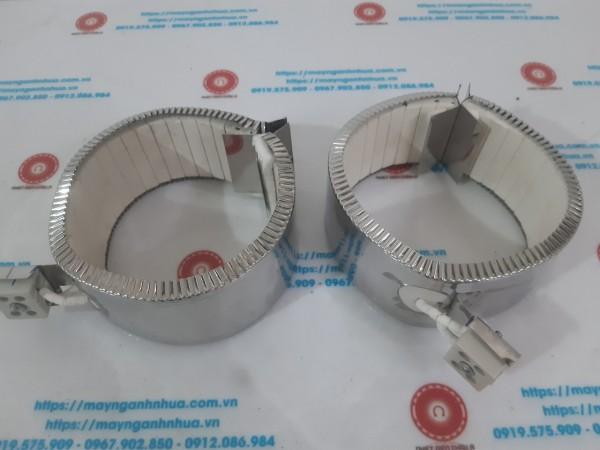 Điện trở vòng sứ ra domino D130*65/220V-1000W