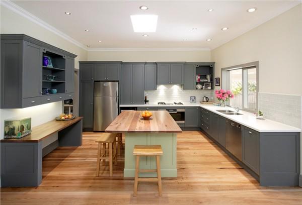 Điều chỉnh cách bài trí giúp căn bếp thoáng rộng hơn