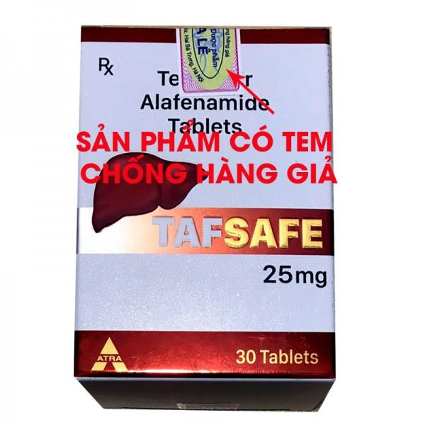 Điều trị viêm gan B bằng Thuốc Tafsafe 25mg có tốt không
