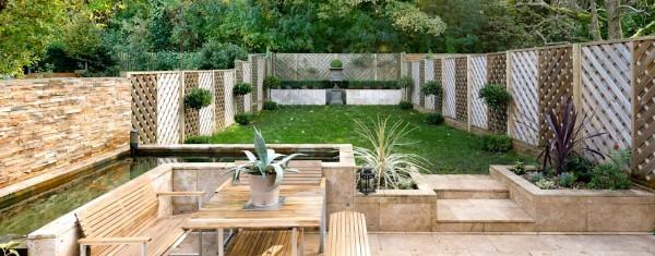 Định hình và khoanh vùng cho không gian khu vườn