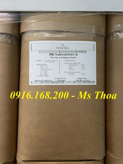 DK SARSAPONIN 30 - Yucca bột, Yucca Mỹ, Yucca nguyên liệu hấp thu khí độc