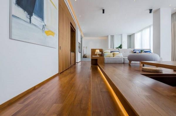 Độc đáo căn nhà nhỏ phân chia không gian bằng cách giật cấp