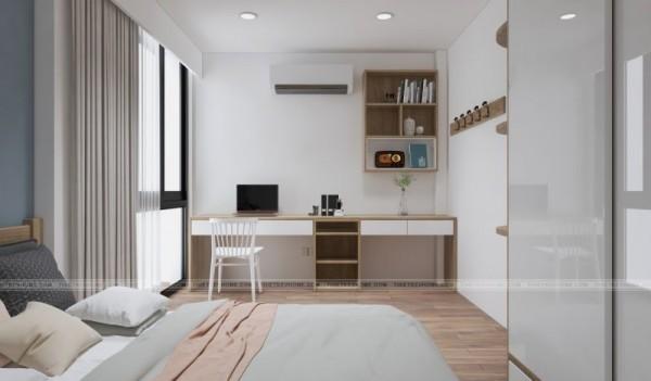 Dọn dẹp phòng ngủ giúp không gian luôn sạch sẽ thoáng đãng
