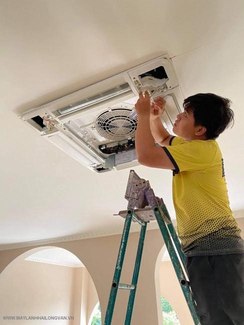 Đơn vị chuyên thi công máy lạnh âm trần LG cho văn phòng giá rẻ nhất quận 2