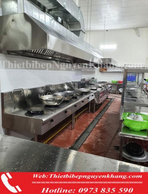 Đơn vị  cung cấp Thiết kế lắp đặt thiết bị bếp á công nghiệp