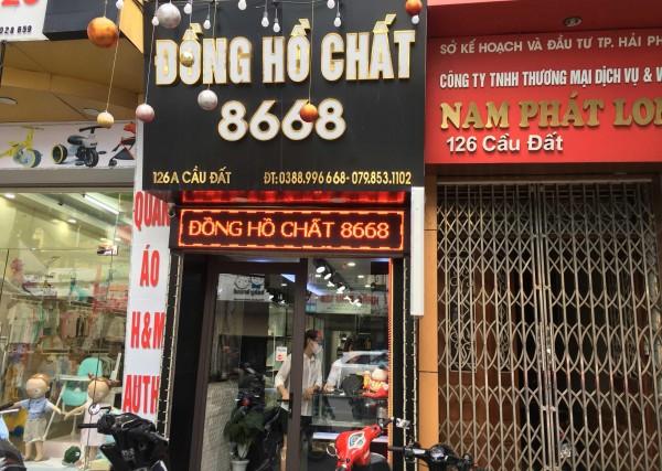 Đồng Hồ Chất 8668 - Shop đồng hồ nam Uy tín tại tphcm
