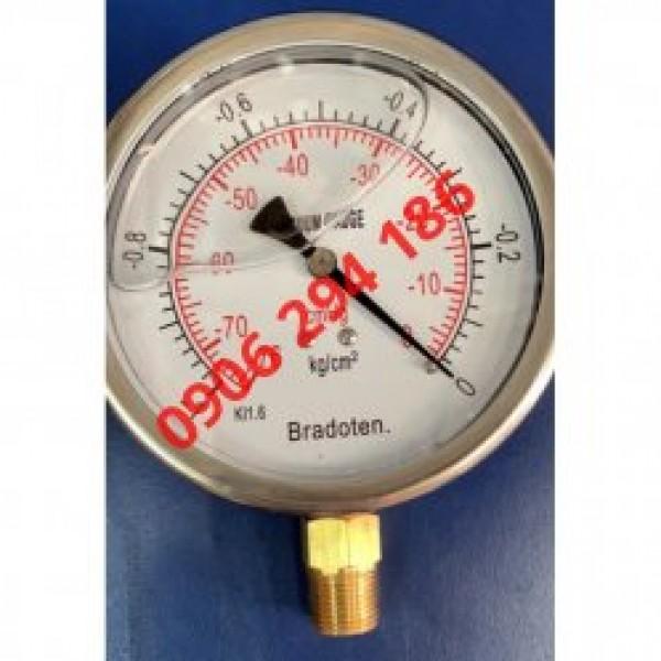 Đồng hồ đo áp suất Bradoten và thông số