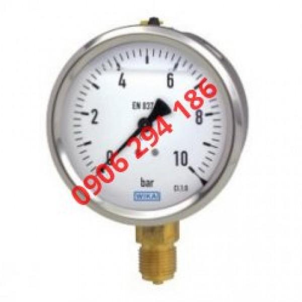 Đồng hồ đo áp suất Wika 213.53 ứng dụng tại đâu theo BILALO