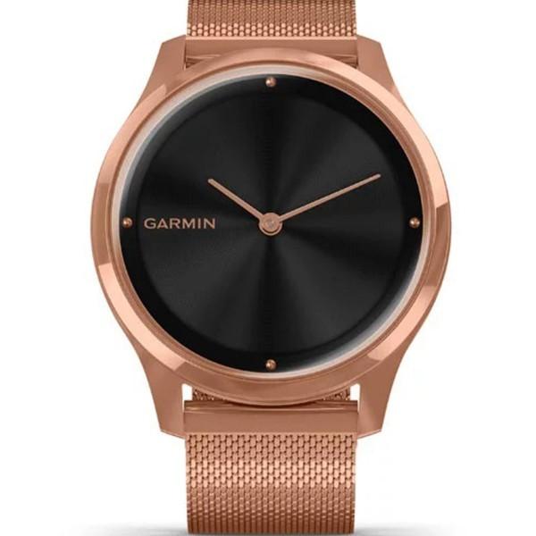 Đồng hồ Garmin Vivomove Luxe (Rose Gold-Black, Milanese) có nhiều chức năng hơn