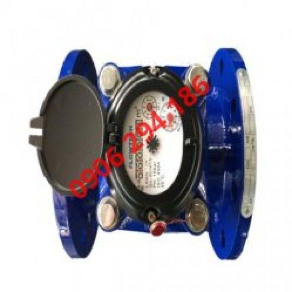 Đồng hồ lưu lượng nước thải Flowtech có size gì?
