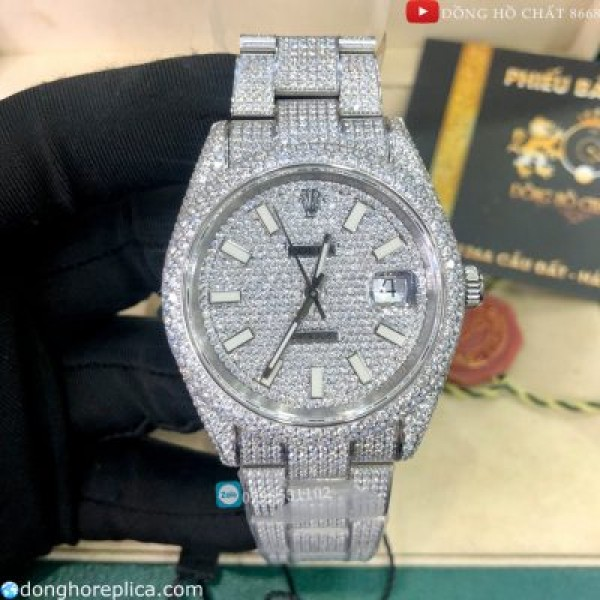 Đồng Hồ Nam Rolex DateJust Diamond Mozambique