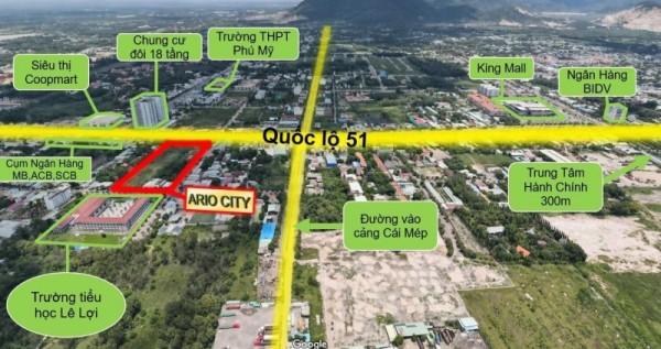 Dự án Ario City Phú Mỹ – Khu đất nền trung tâm thành phố Cảng