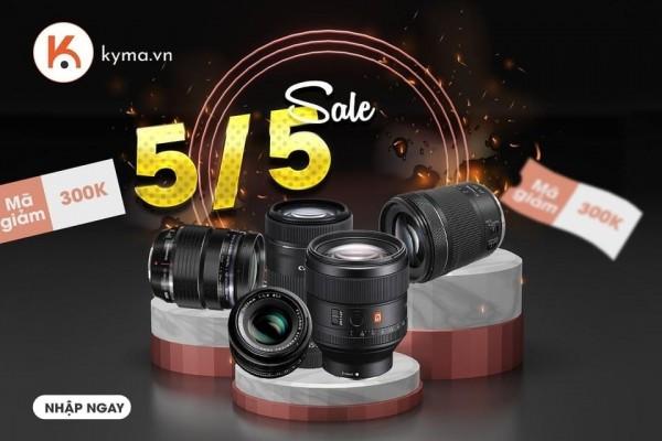 Đừng bỏ lở cơ hội sở hữu những ống kính cực xịn tại Kyma
