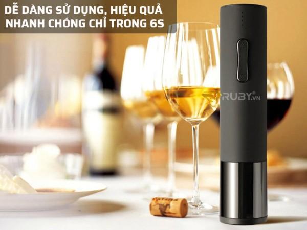 Dụng cụ mở nắp chai rượu vang tự động Huo Hou chất lượng