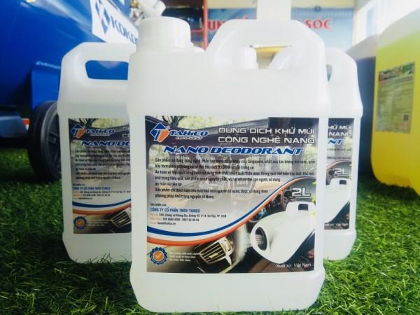 Dung Dịch Khử Mùi Ô tô Ventek Nano Deodorant Đà Nẵng