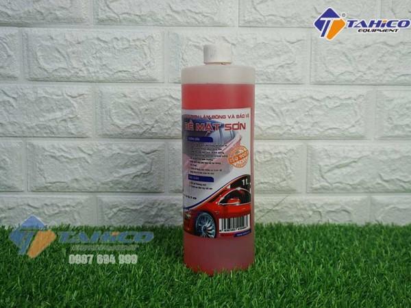Dung dịch làm bóng sơn và bảo vệ thân xe ô tô du lịch Ventek 1 lít